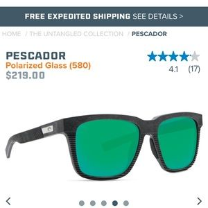 "Costa ""The Untangled Collection"" men's sunglasses"
